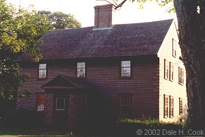 Judge Isaac Winslow House, Marshfield